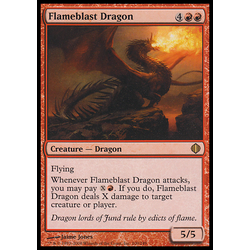 Magic löskort: Shards of Alara Flameblast Dragon
