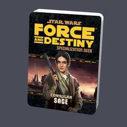 Star Wars: Force and Destiny: Specialization Deck Consular Sage