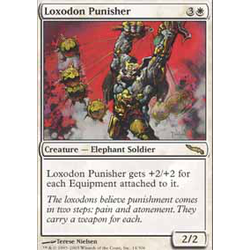 Magic löskort: Mirrodin: Loxodon Punisher