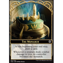 Magic löskort: Conspiracy: Take the Crown: The Monarch