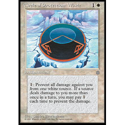Magic löskort: Ice Age: Circle of Protection: White