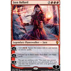 Magic löskort: Dominaria: Jaya Ballard