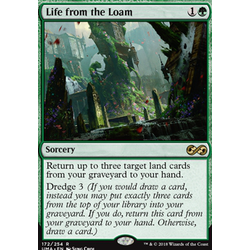 Magic löskort: Ultimate Masters: Life from the Loam