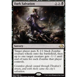 Magic löskort: Eldritch Moon: Dark Salvation