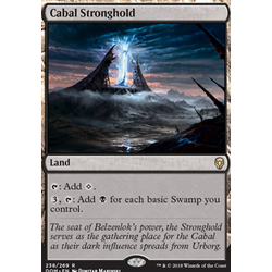 Magic löskort: Dominaria: Cabal Stronghold