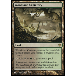 Magic löskort: Innistrad: Woodland Cemetery