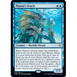 Magic löskort: Theros: Beyond Death: Thassa's Oracle