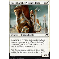 Magic löskort: Origins: Knight of the Pilgrim's Road (foil)