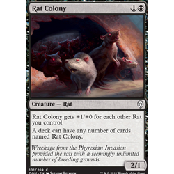 Magic löskort: Dominaria: Rat Colony