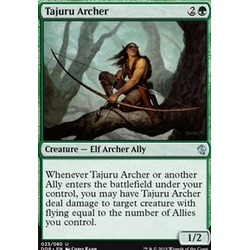 Magic löskort: Zendikar vs Eldrazi: Tajuru Archer