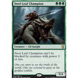 Magic löskort: Dominaria: Steel Leaf Champion