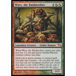 Magic löskort: Shadowmoor: Wort, the Raidmother