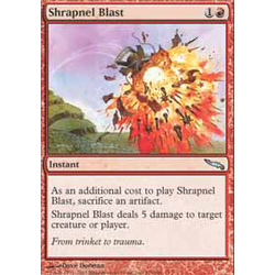 Magic löskort: Shrapnel Blast