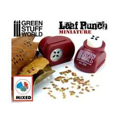 Miniature Leaf Punch RED