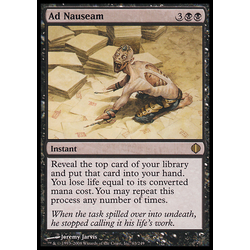 Magic löskort: Shards of Alara: Ad Nauseam (Foil)