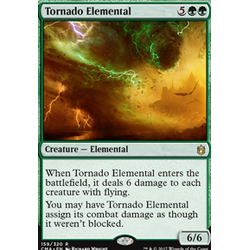 Magic löskort: Commander Anthology: Tornado Elemental
