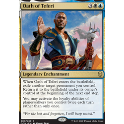 Magic löskort: Dominaria: Oath of Teferi