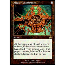 Magic löskort: Apocalypse: Mask of Intolerance