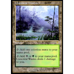 Magic löskort: Apocalypse: Llanowar Wastes