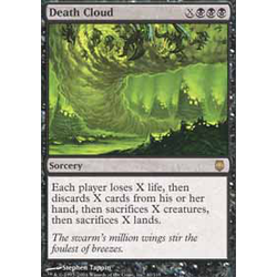 Magic löskort: Darksteel: Death Cloud