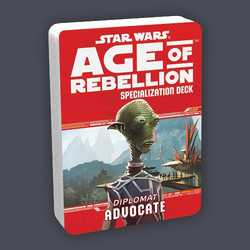 Star Wars: Age of Rebellion: Specialization Deck - Diplomat Advocate
