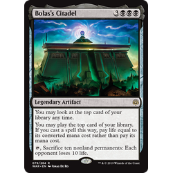 Magic löskort: War of the Spark: Bolas's Citadel