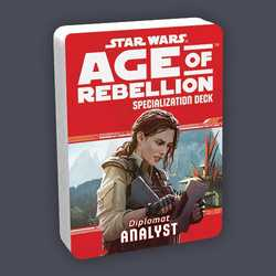 Star Wars: Age of Rebellion: Specialization Deck - Diplomat Analyst