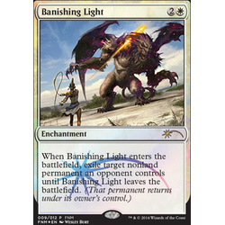 Magic löskort: FNM Promo: Banishing Light (Foil)