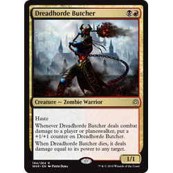 Magic löskort: War of the Spark: Dreadhorde Butcher