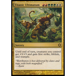 Magic löskort: Shards of Alara: Titanic Ultimatum