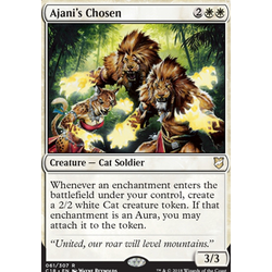 Magic löskort: Commander 2018: Ajani's Chosen
