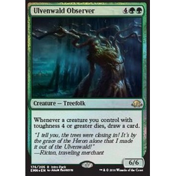 Magic löskort: Eldritch Moon: Ulvenwald Observer (foil intro pack)