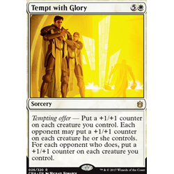 Magic löskort: Commander Anthology: Tempt with Glory
