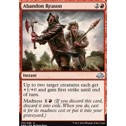 Magic löskort: Eldritch Moon: Abandon Reason