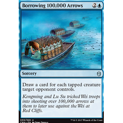 Magic löskort: Commander Anthology: Borrowing 100,000 Arrows