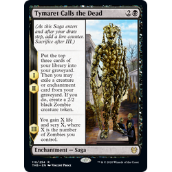Magic löskort: Theros: Beyond Death: Tymaret Calls the Dead