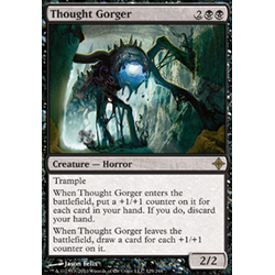 Magic löskort: Rise of the Eldrazi: Thought Gorger
