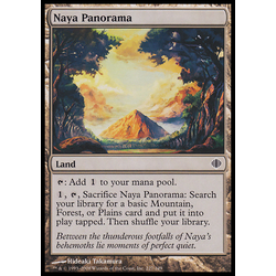 Magic löskort: Shards of Alara Naya Panorama