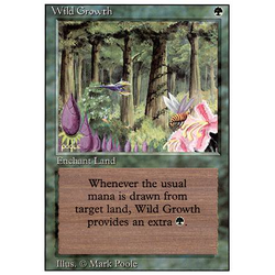 Magic löskort: Revised: Wild Growth