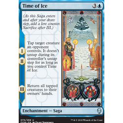 Magic löskort: Dominaria: Time of Ice