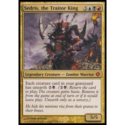 Magic löskort: Shards of Alara: Sedris, the Traitor King