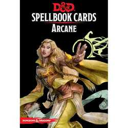 D&D 5.0: Spellbook Cards - Arcane (new)