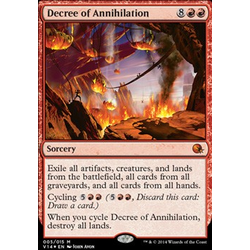 Magic löskort: Annihilation: Decree of Annihilation