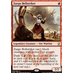 Magic löskort: Dragons of Tarkir: Zurgo Bellstriker