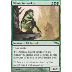 Magic löskort: Mirrodin: Glissa Sunseeker