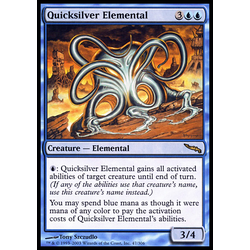 Magic löskort: Mirrodin: Quicksilver Elemental