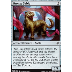 Magic löskort: Conspiracy: Take the Crown: Bronze Sable