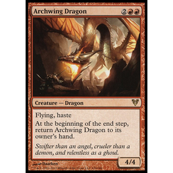 Magic löskort: Avacyn Restored: Archwing Dragon