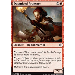Magic löskort: Conspiracy: Take the Crown: Deputized Protester