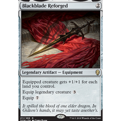Magic löskort: Dominaria: Blackblade Reforged